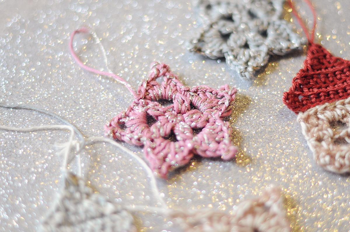 étoile crochet