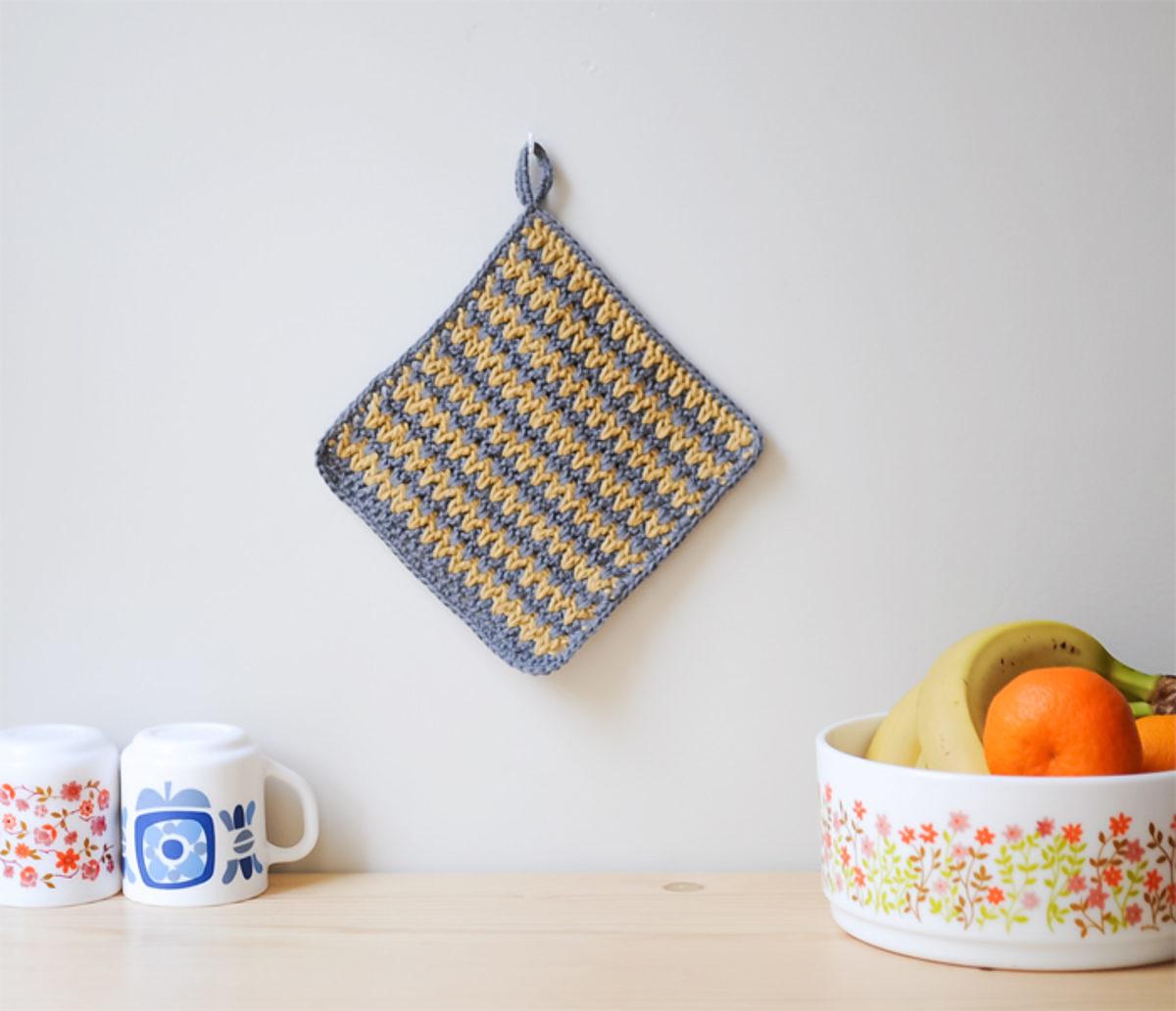 manique crochet tuto