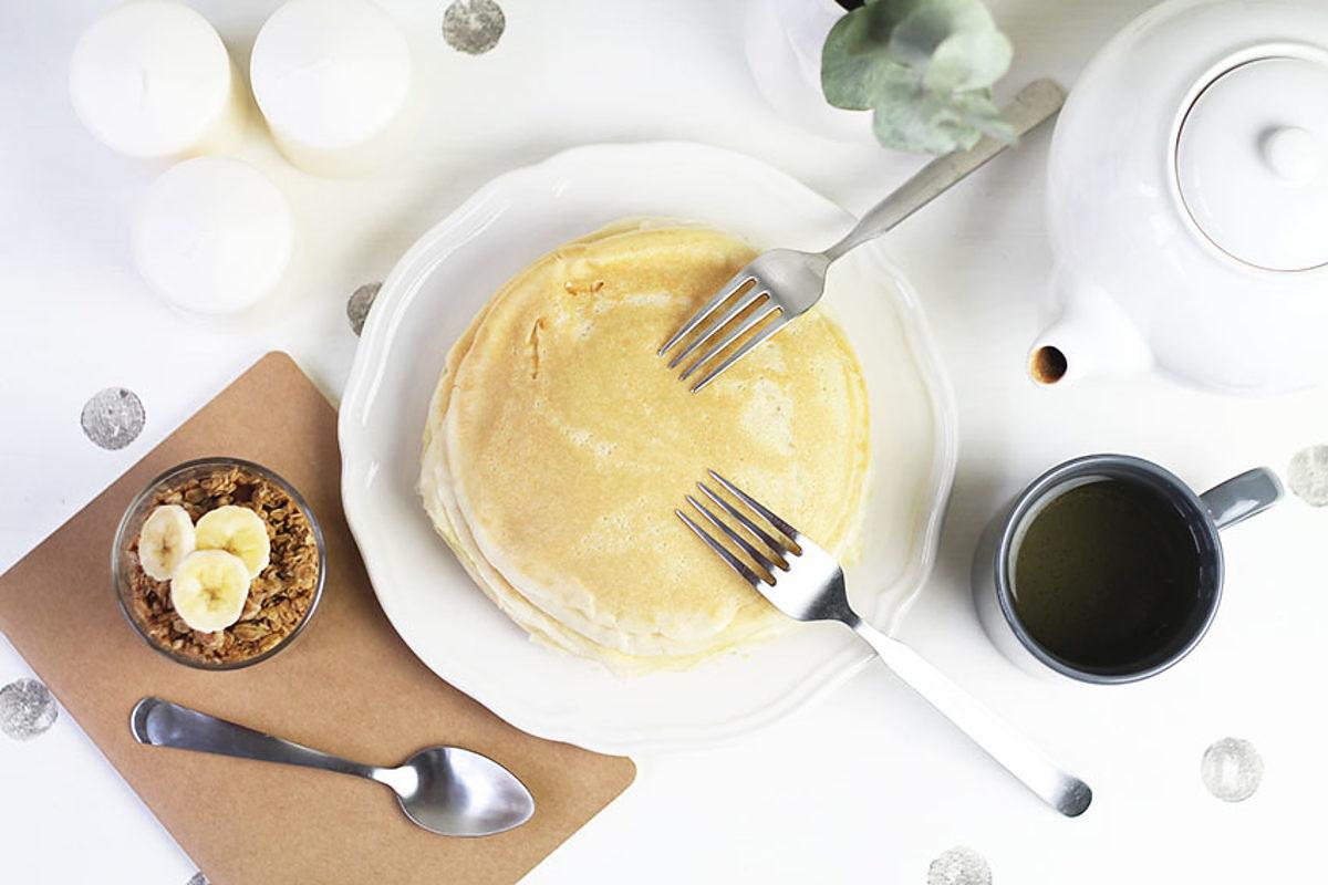 Douces crêpes sans gluten à la fleur d'oranger - Recette - Miss Blemish x Le journal de Saxe