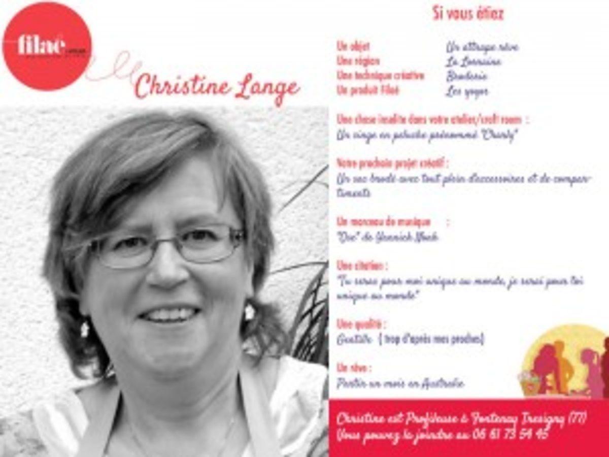 Fiche Christine Lange