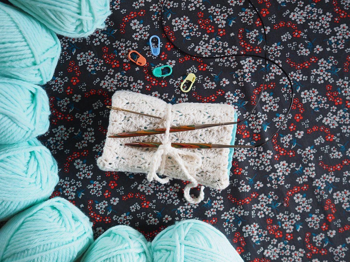 quadrillage pour tricot