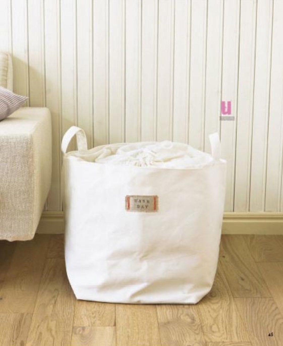 27 sacs en toile de coton