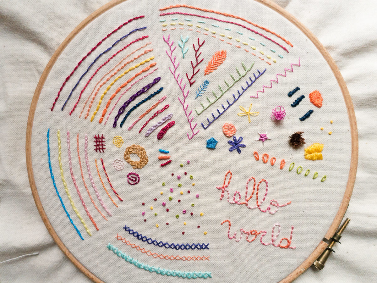 Embroidery - Sampler