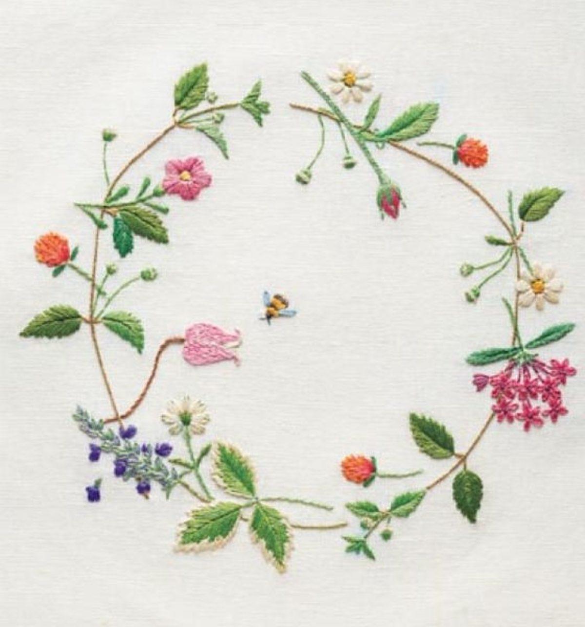 couronne-fleurs