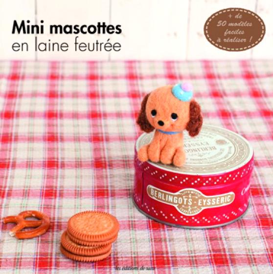 mini mascottes en laine feutree