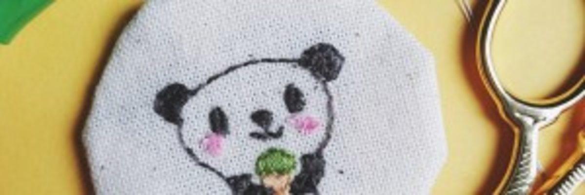 Broderie Panda