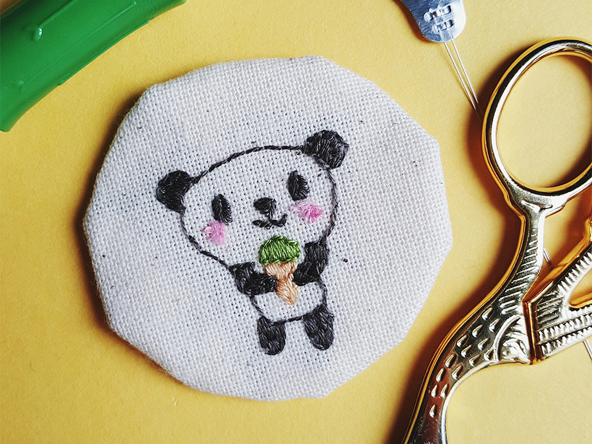 Broderie-Panda
