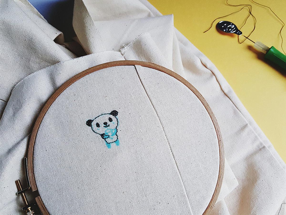 WIP-Broderie-Panda