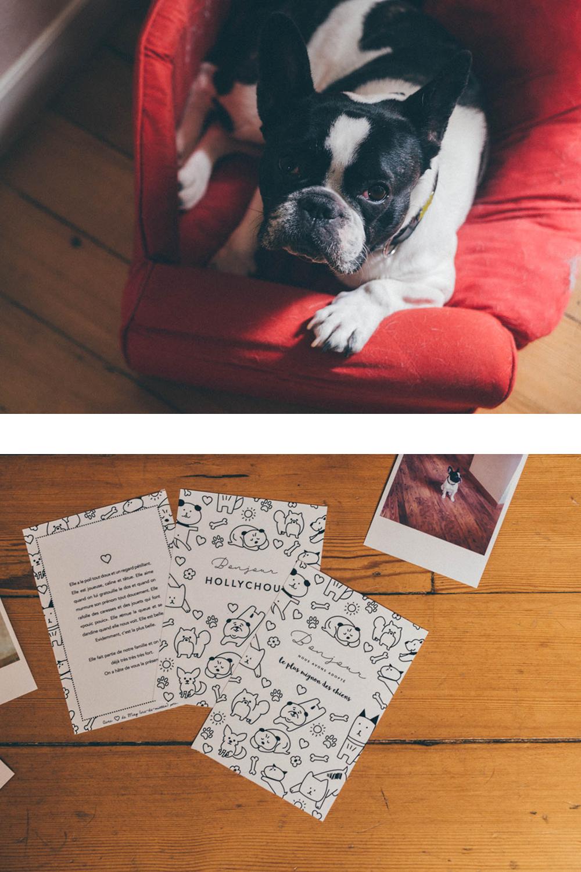 Faire part pour chien à imprimer