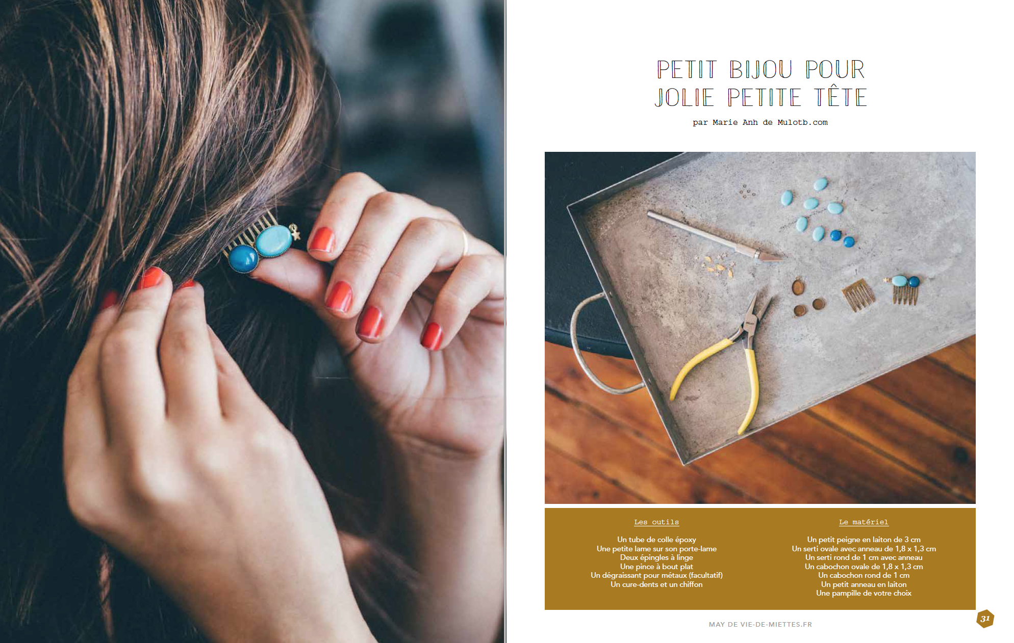 Magazine Saxe Mulot B et Vie de miettes