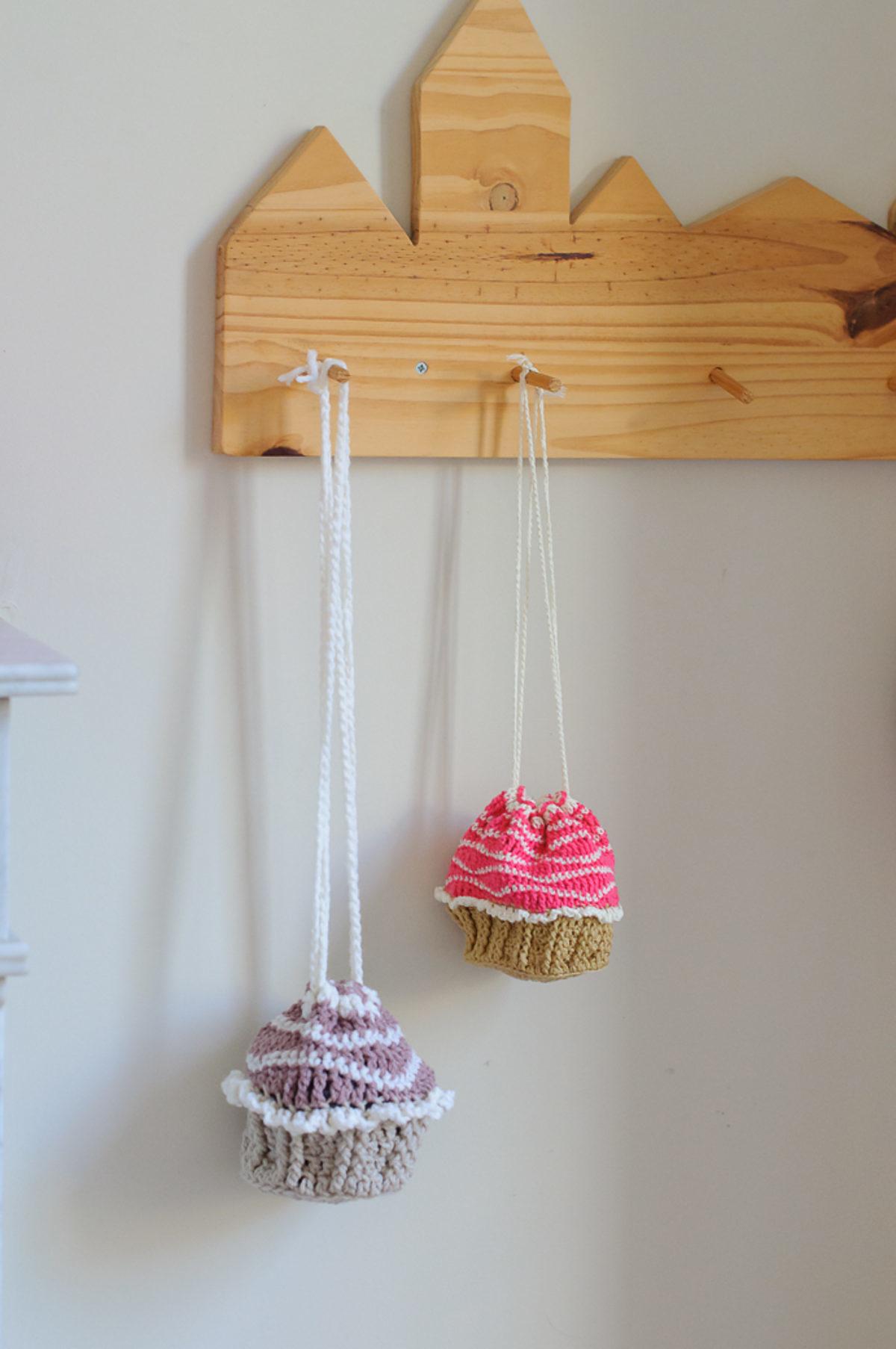 tuto pochon cupcake crochet