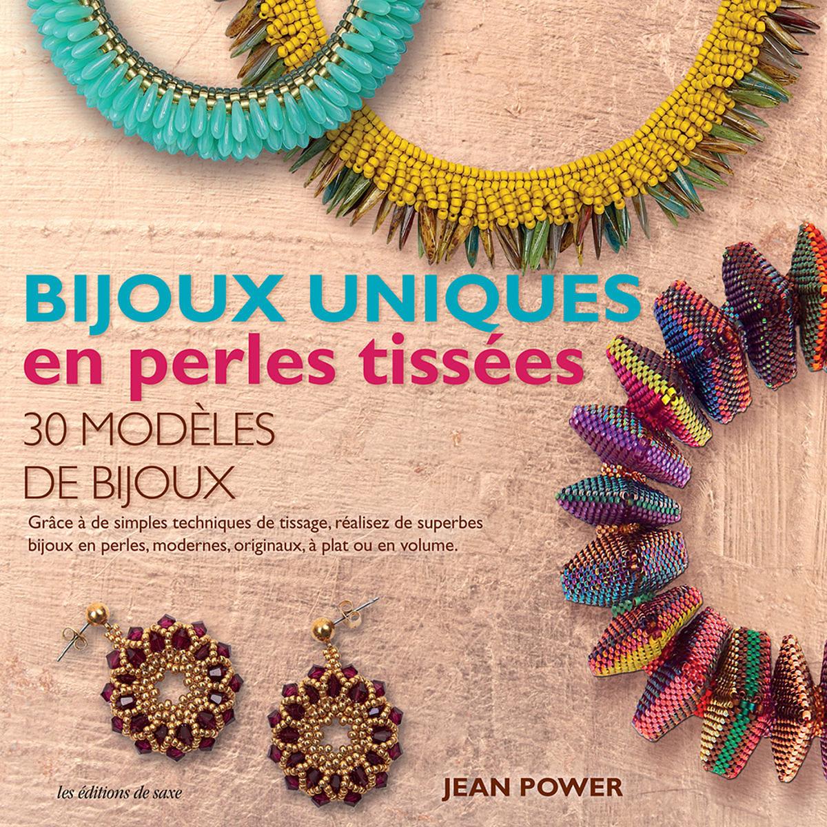 Bijoux uniques perles tissées
