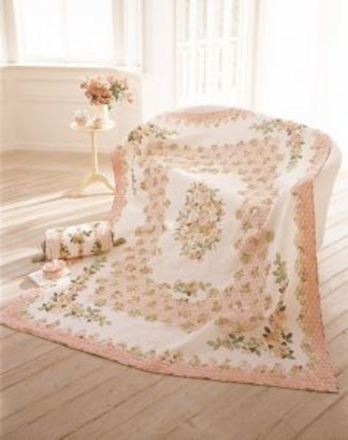 Quilt Japan roses roses