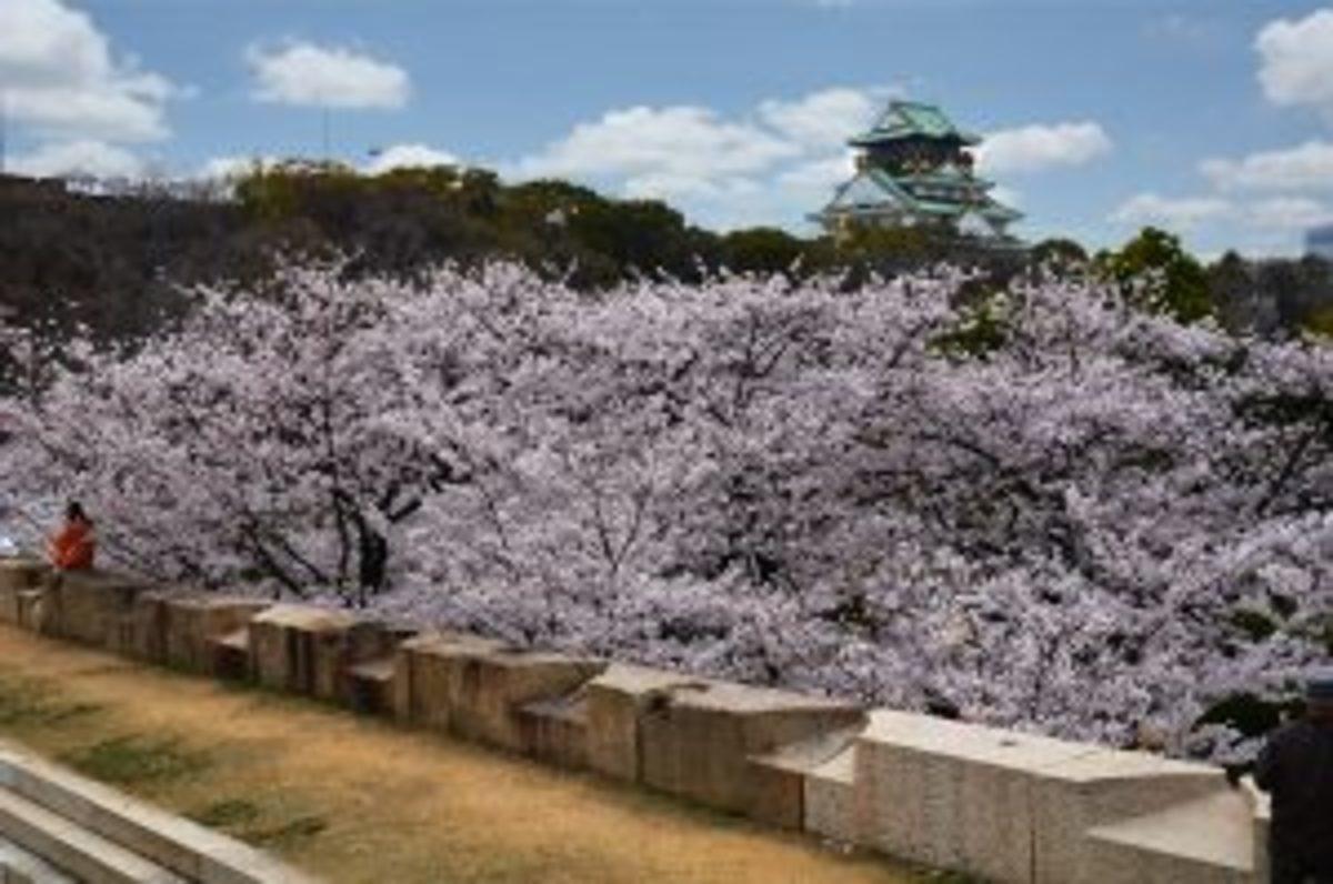 Chateau Osaka-Japon, Brian Merrill, Pixabay