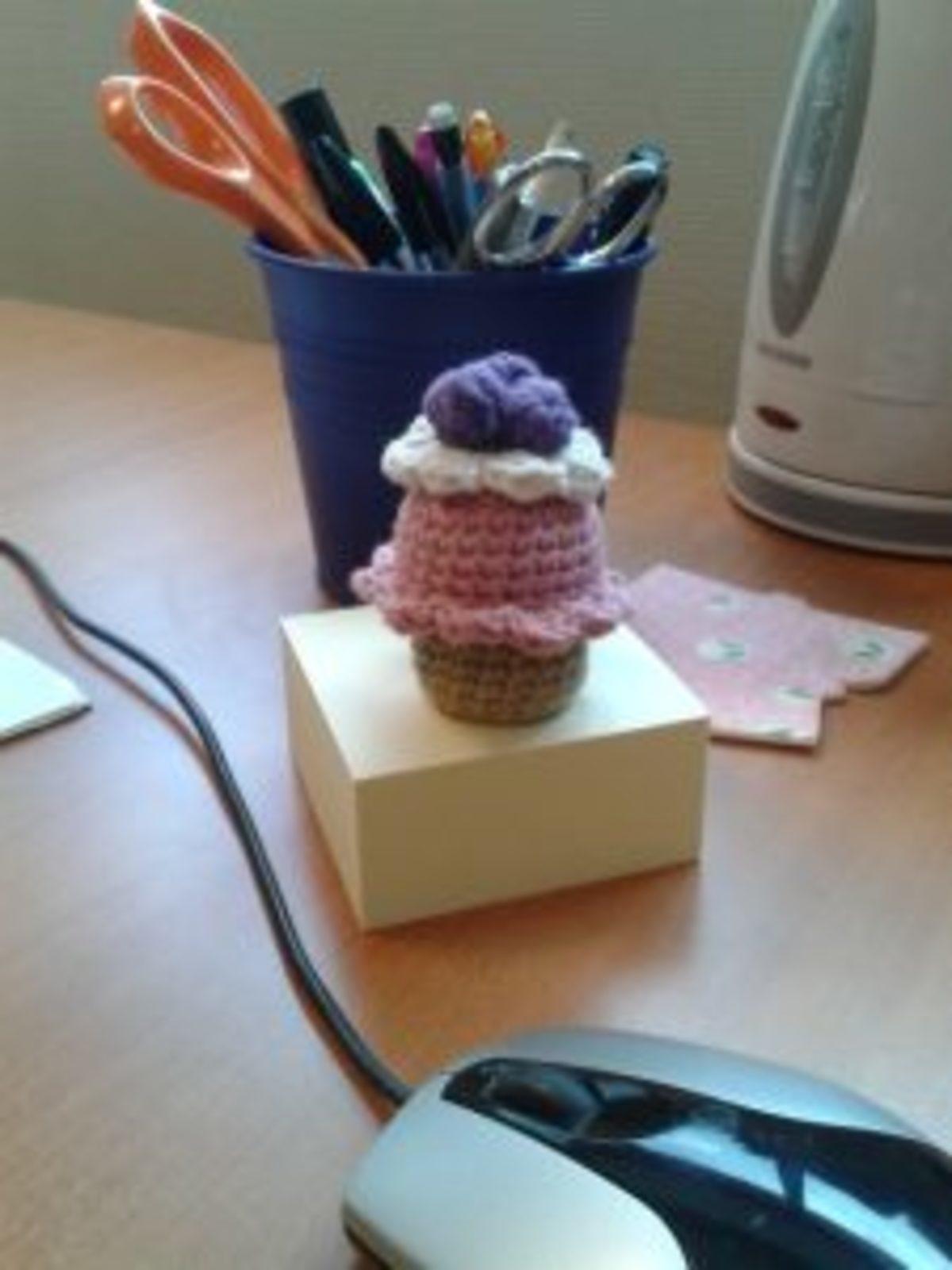 tuto crochet cupcake glutenfree
