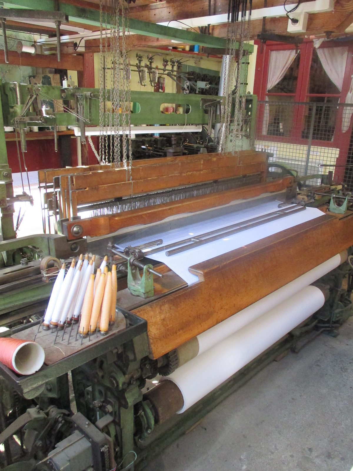 Métier à tisser 1950 – Coton
