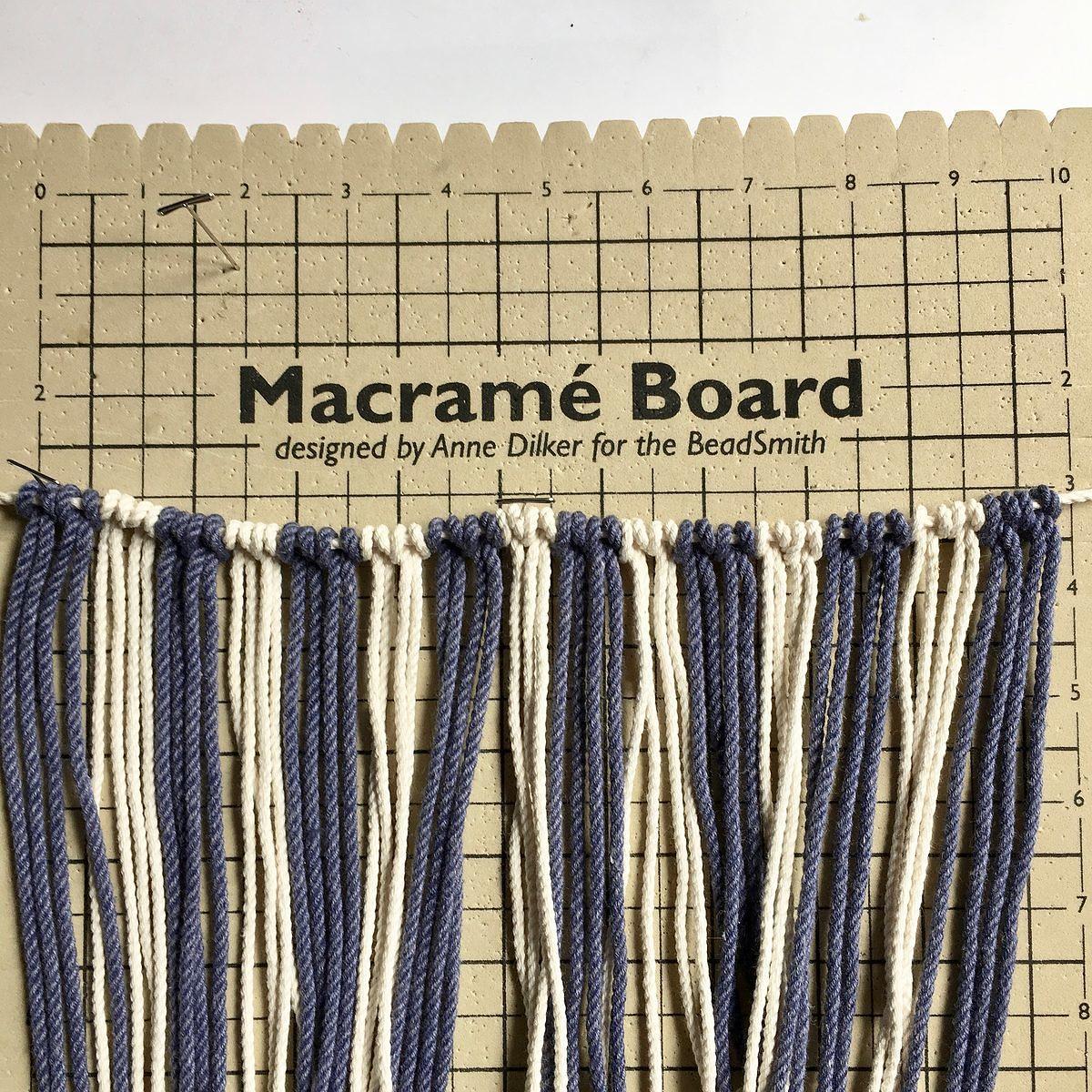 Le Macrame Boheme Selon Claire Tutoriel Pochette Saxe