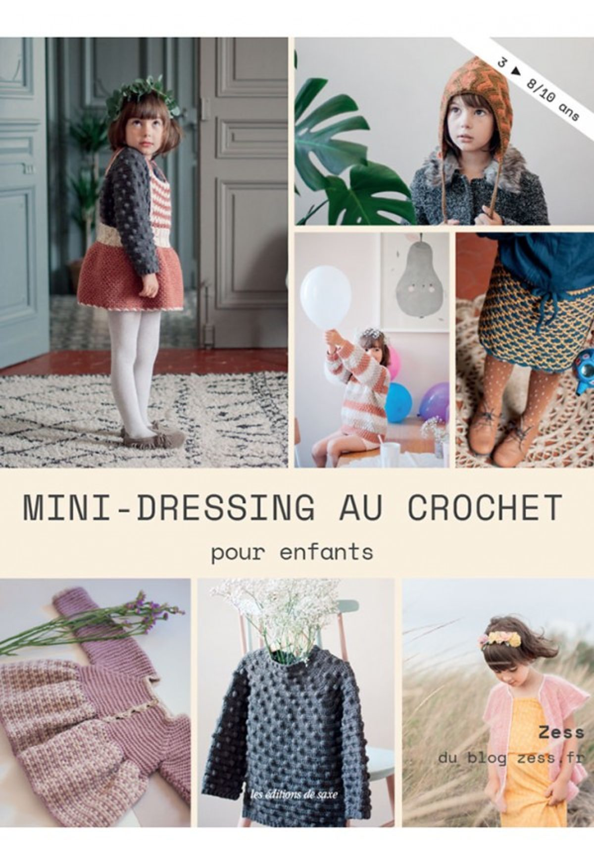 Mini-dressing au crochet pour enfants b9653eabfd7