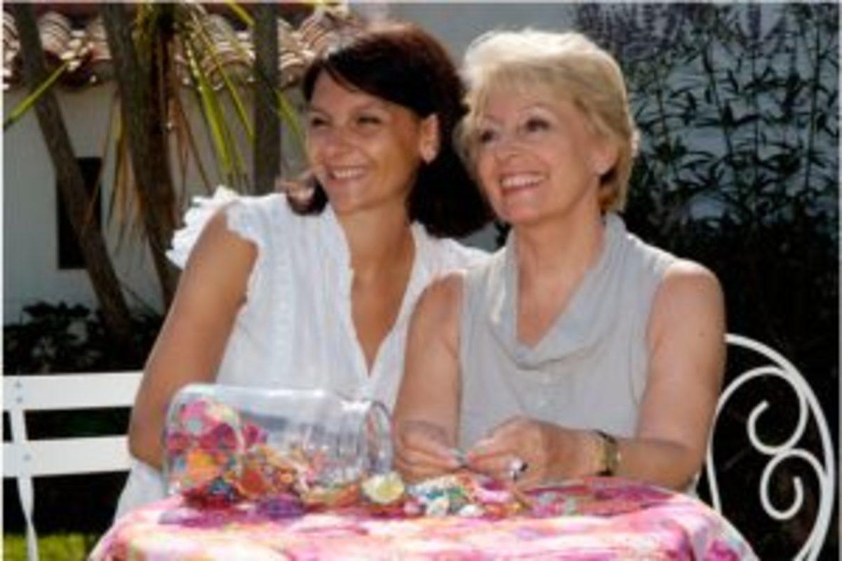 Marie-Claude et sa fille Julie Fontaine, créatrices de Féeféedille
