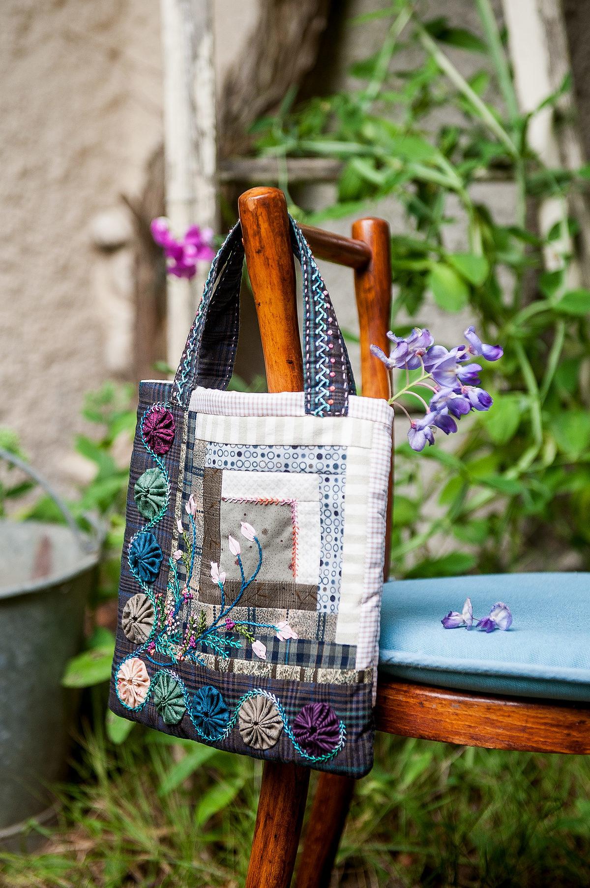 sac Pompadour © photo et stylisme : Marine Delmer