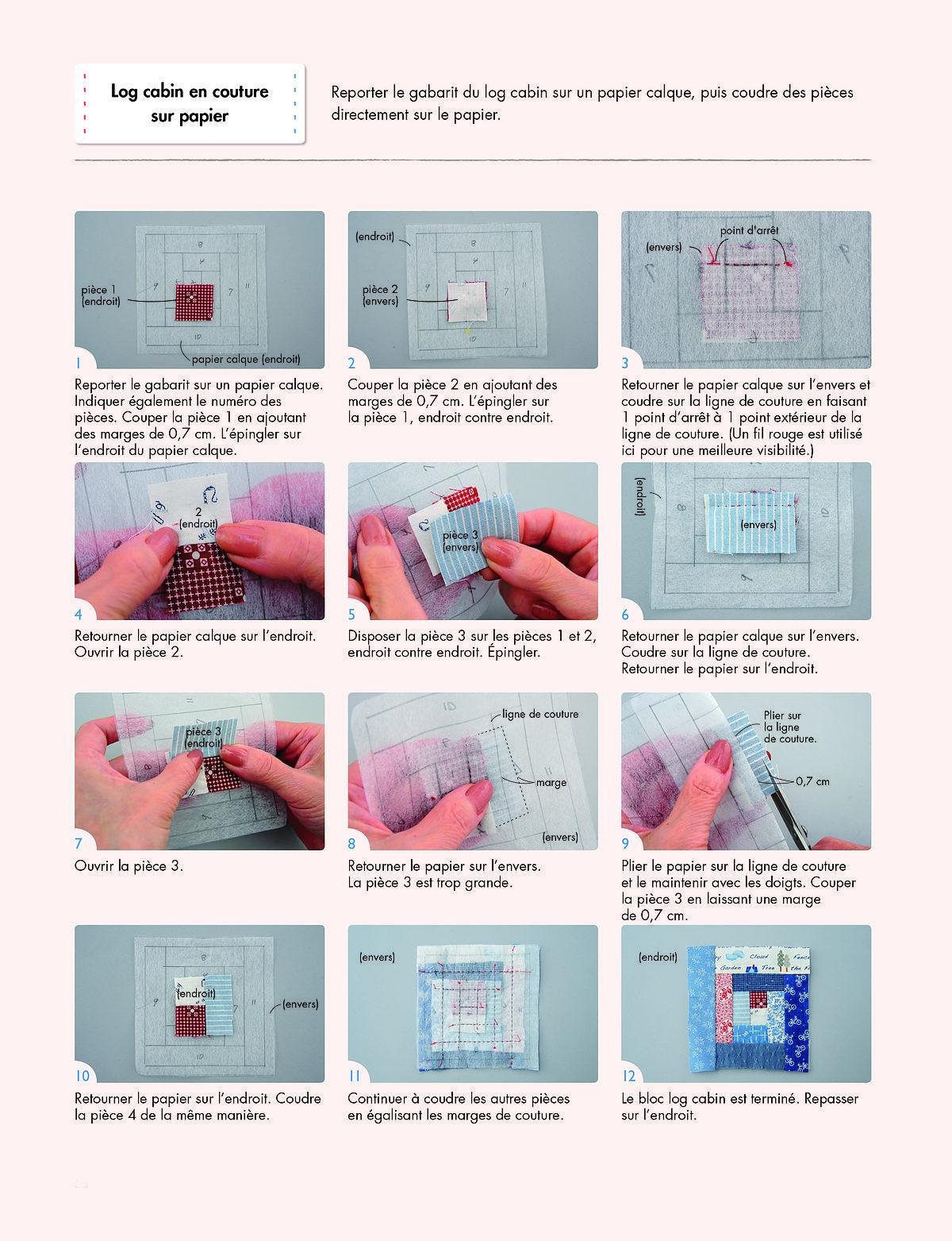 Des techniques expliquées en pas à pas photos