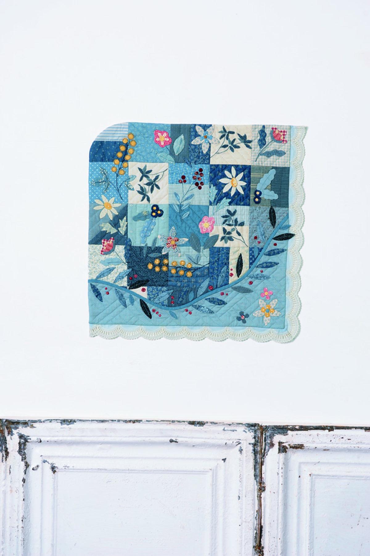 Quilt « Symphonie florale »