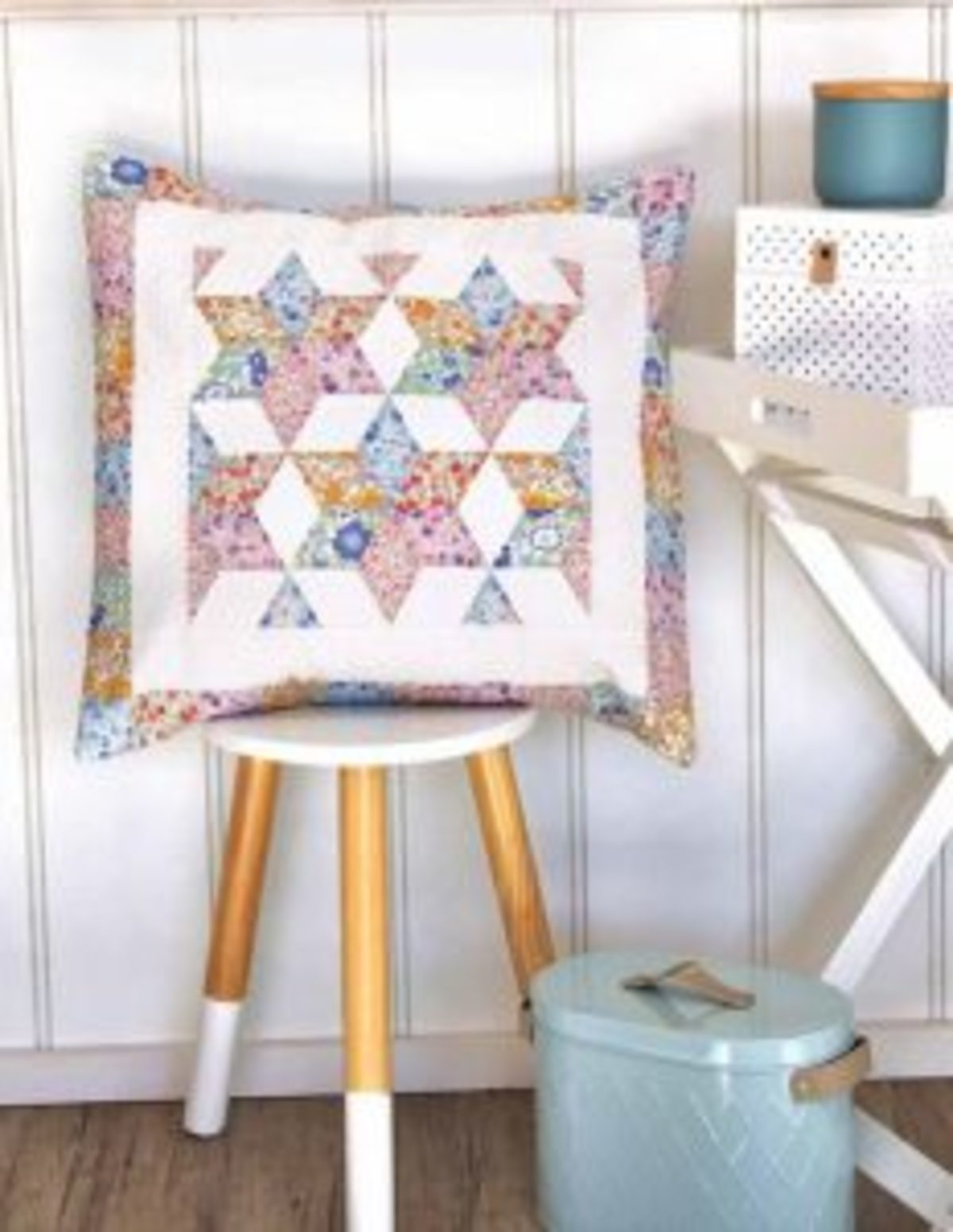 Coussin English Paper Piecing