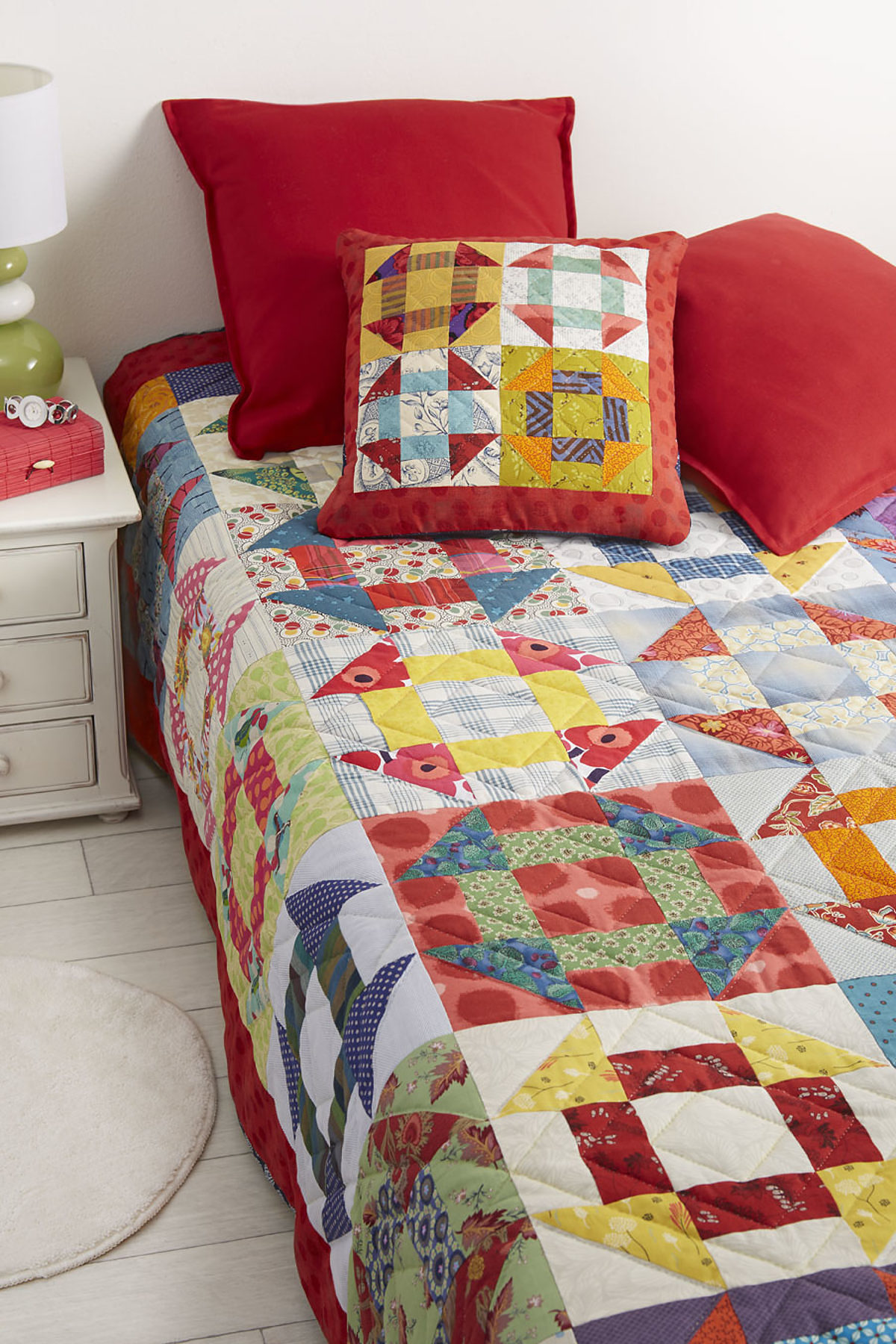 patchwork coussin barattes cosabeth parriaud
