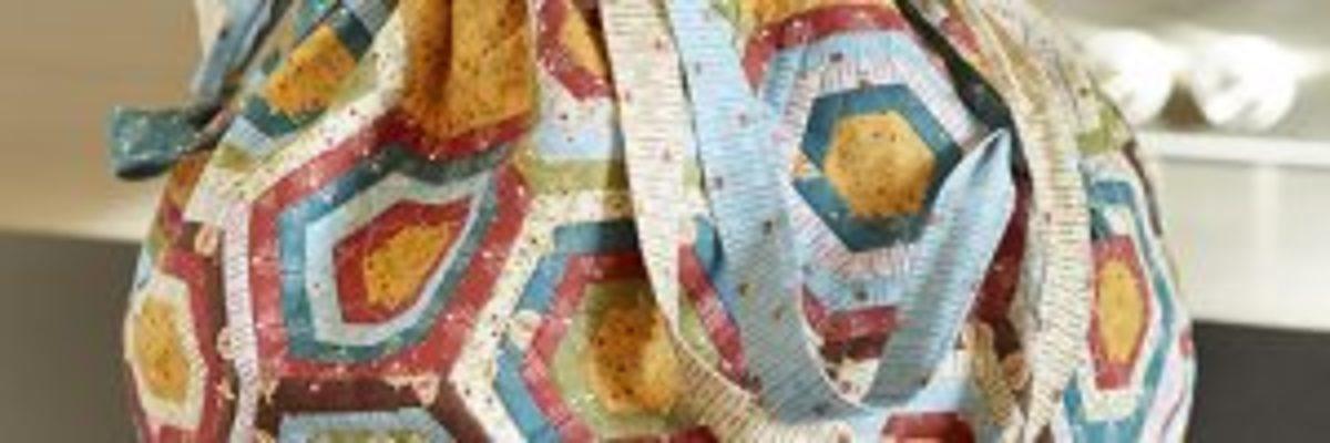 Pochon patchwork gabarits plastique Foltvilág