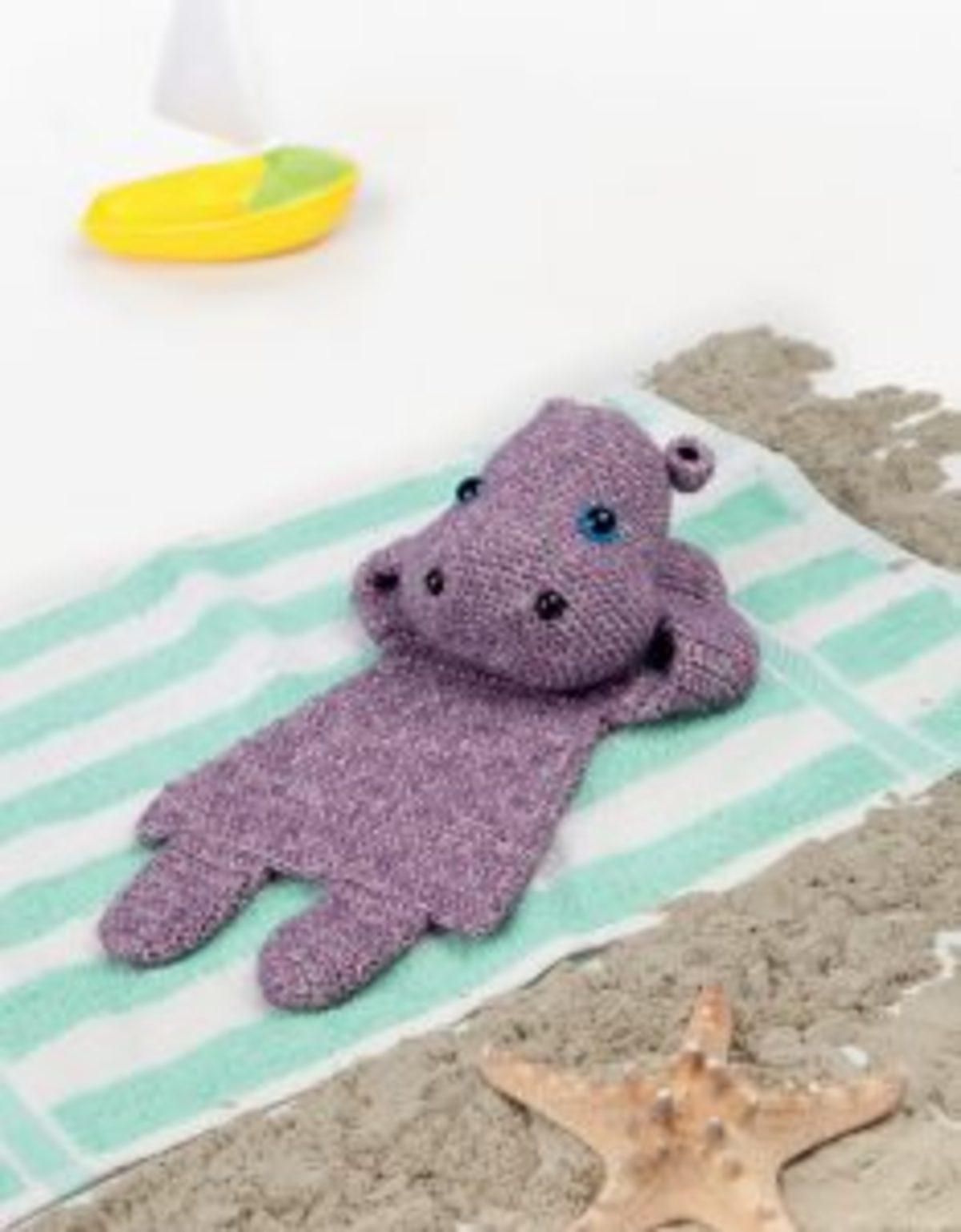 Stone Washed hippopotame crochet Scheepjes