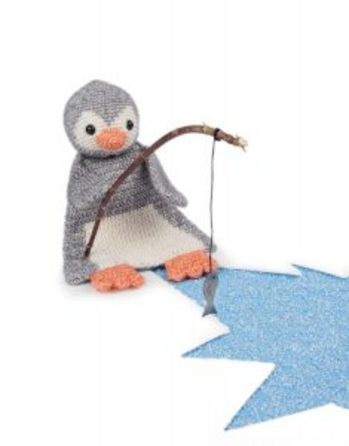 Stone Washed pingouin crochet Scheepjes