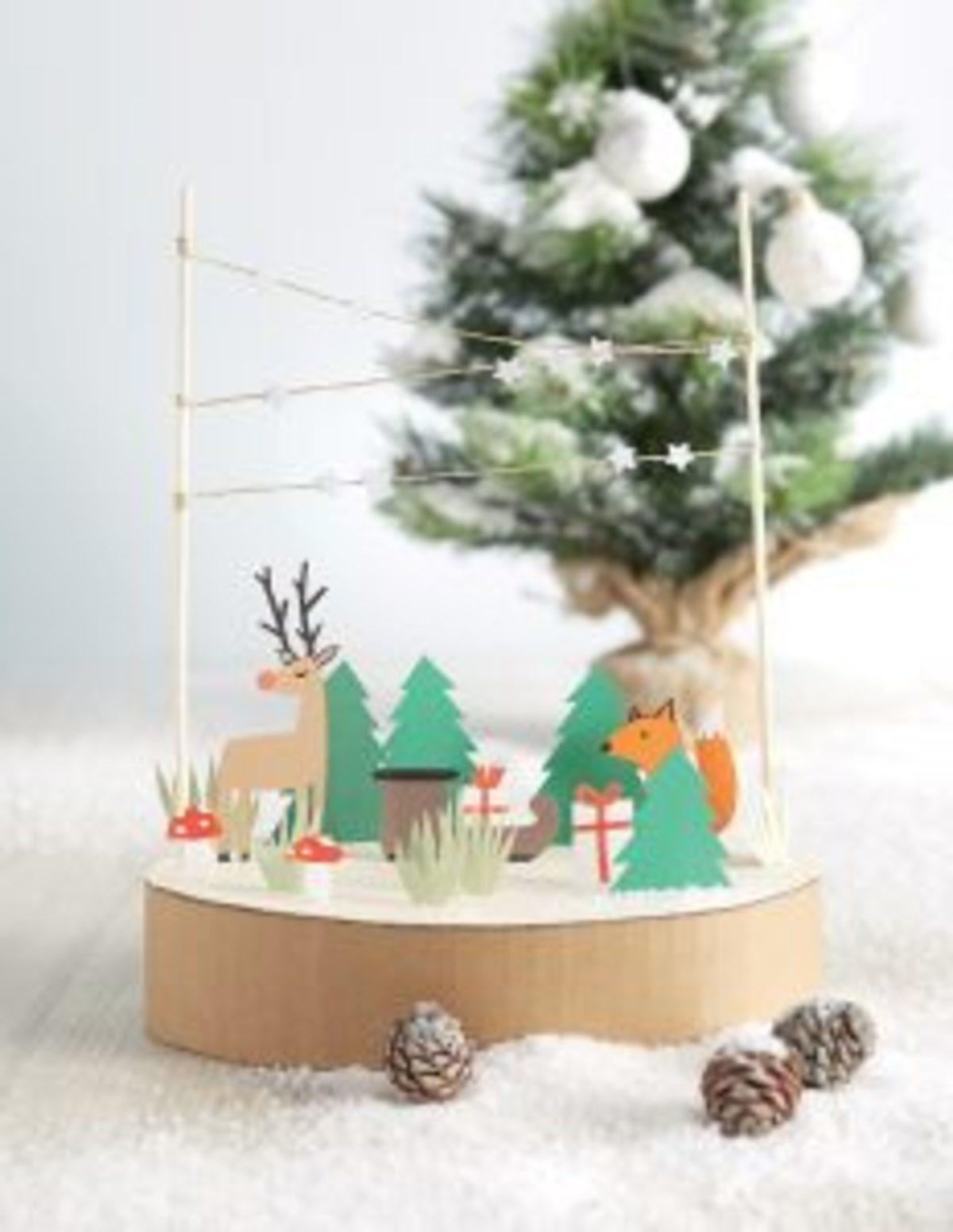 SLBL019 Jourdain décor Noël papier