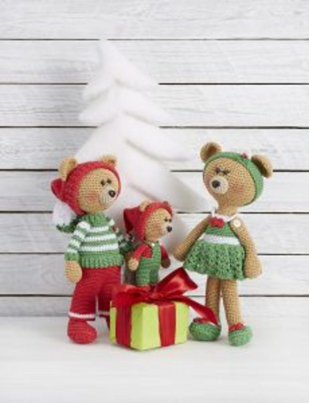 SLIV236 Marygurumi ours crochet catona