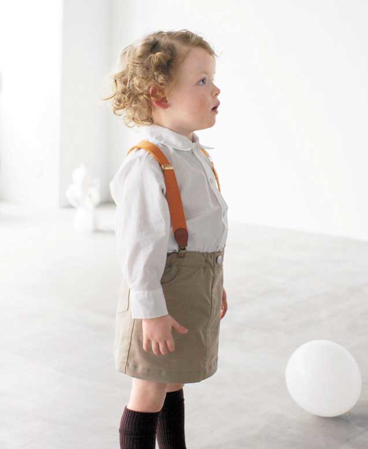JALI254 jupe enfant modèle couture