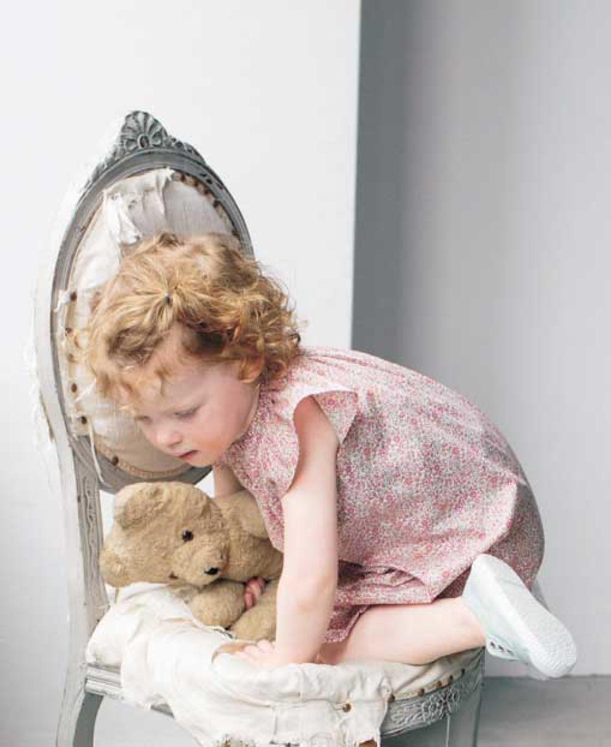 JALI254 robe enfant modèle couture