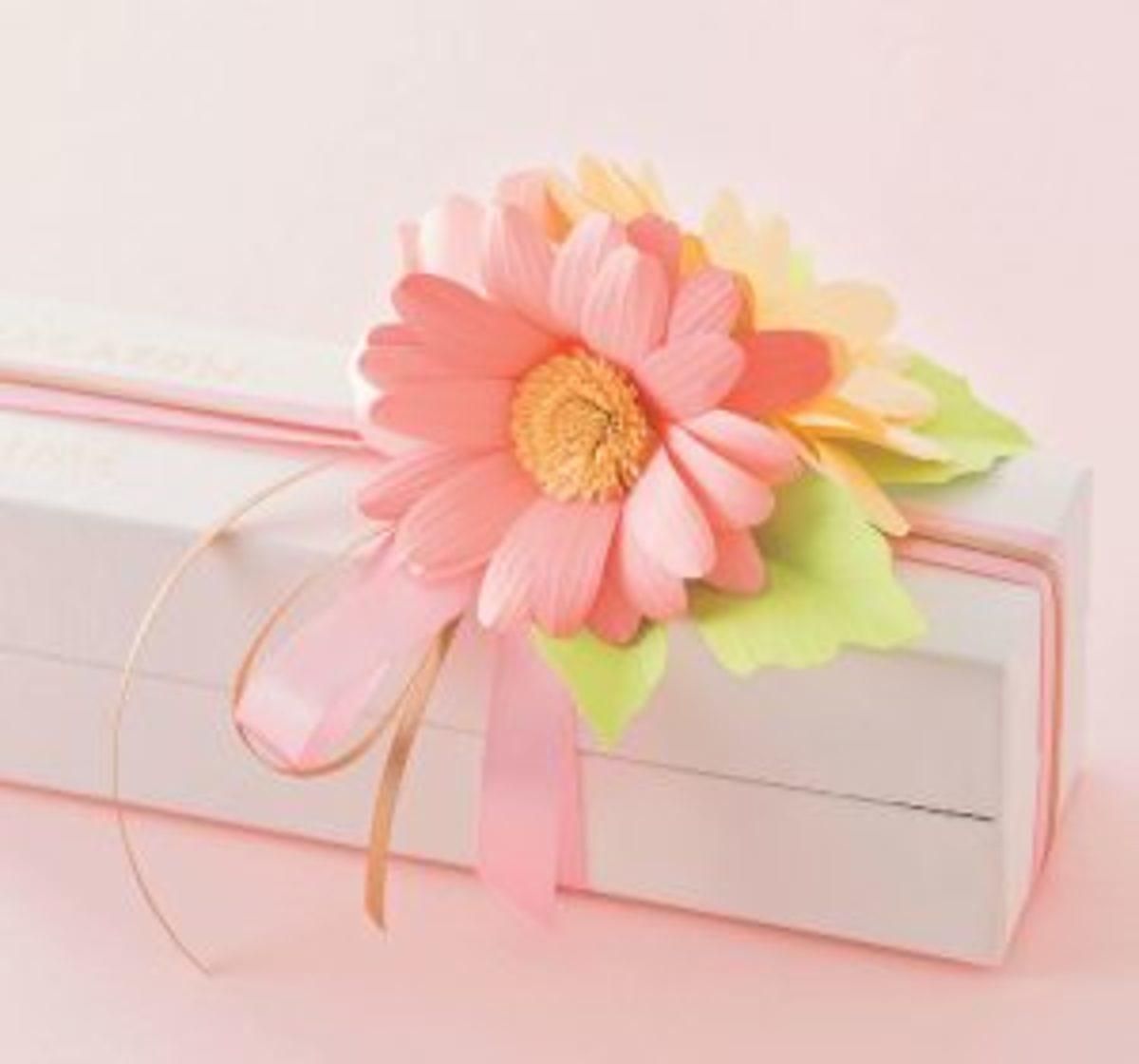 Fleurs en kirigami cadeaux fête des mères