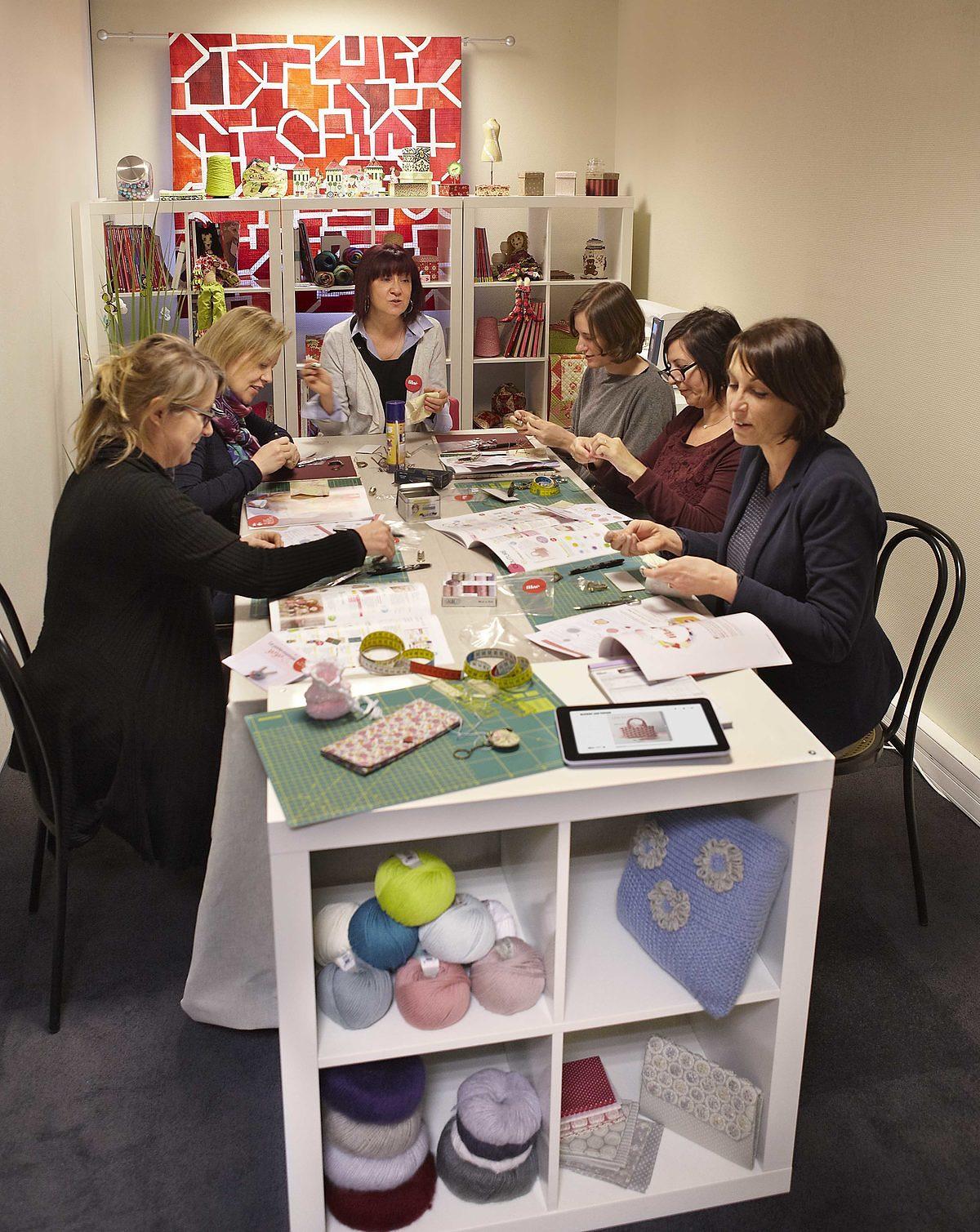 ateliers créatifs en France