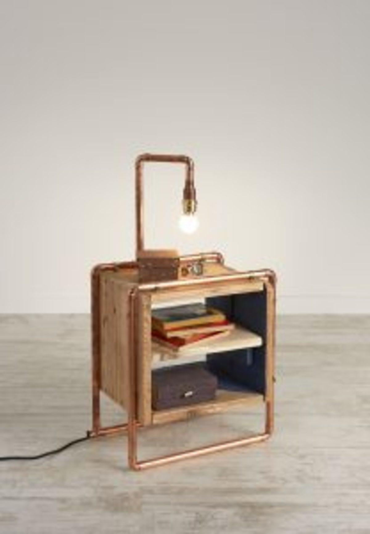 table de chevet bois de palette
