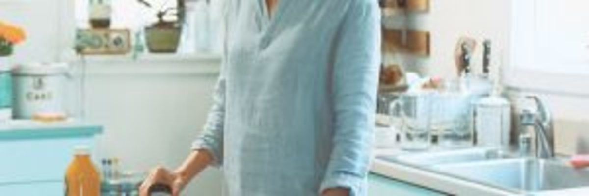 tunique en lin à coudre