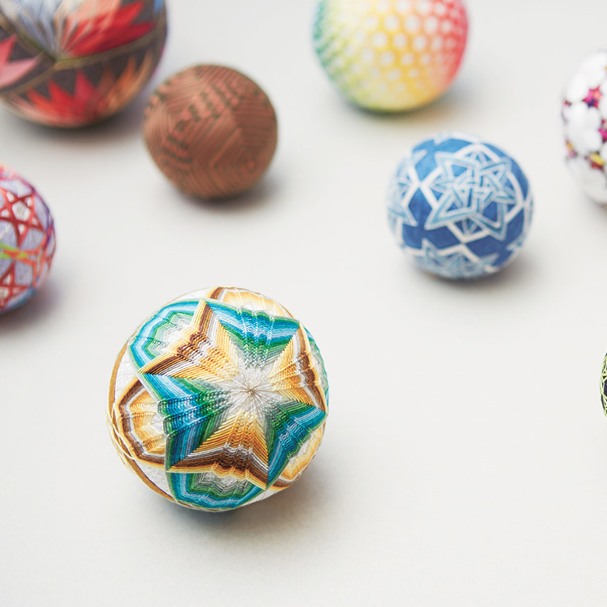 collection boules temari