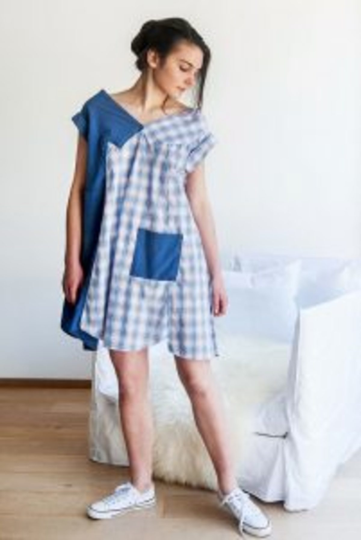 upcycling chemises devenues une robe