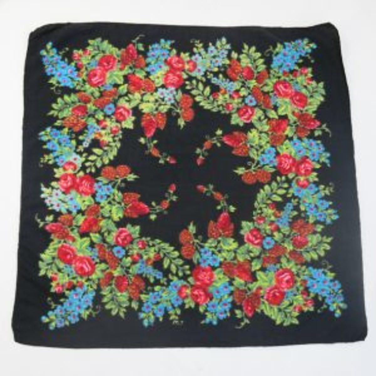 upcycling foulard avant de venir un top