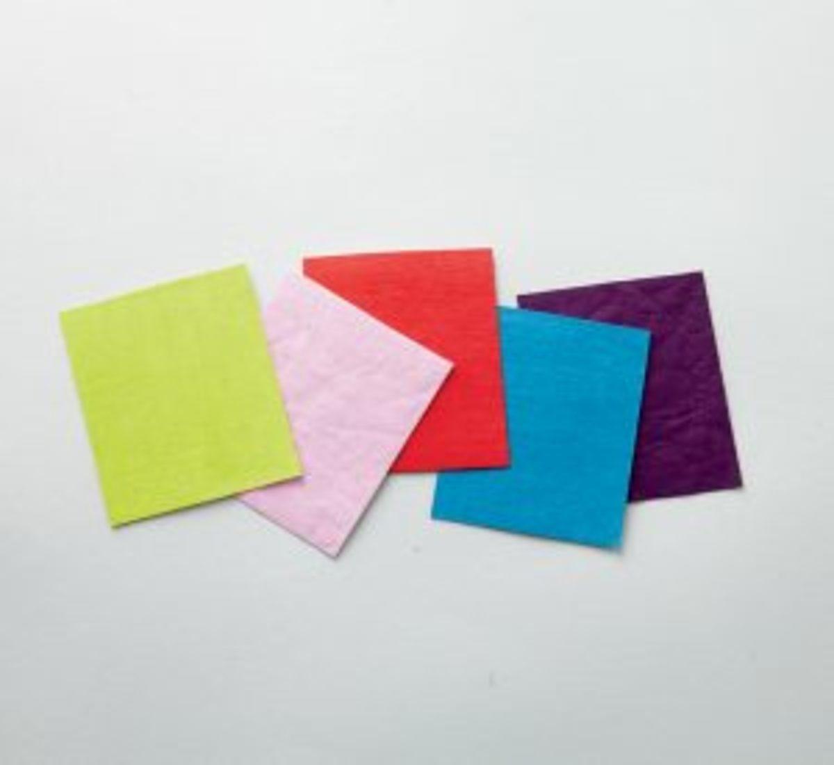 similicuir végétal papier vegan couleurs