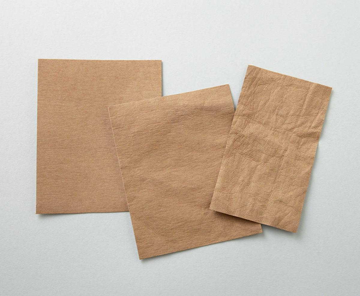 similicuir végétal papier vegan