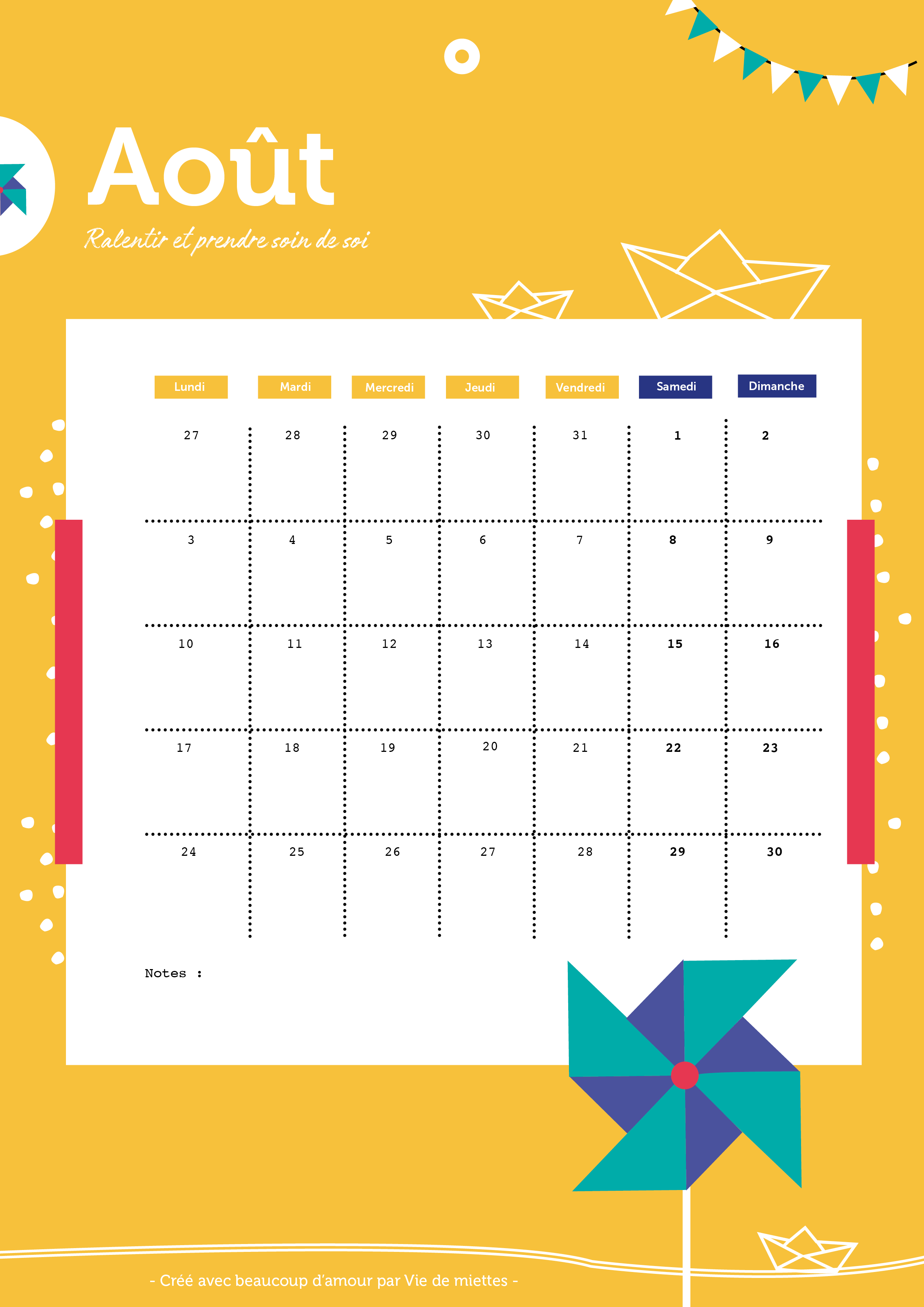 CALENDRIER 2019 TELECHARGER