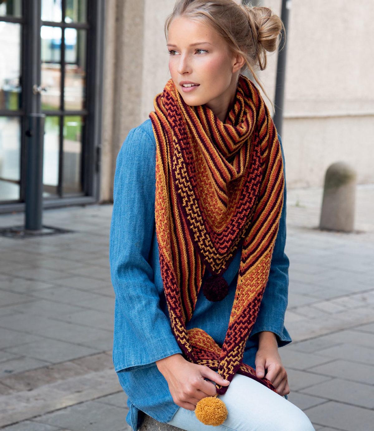point-mosaique-au-tricot-chale