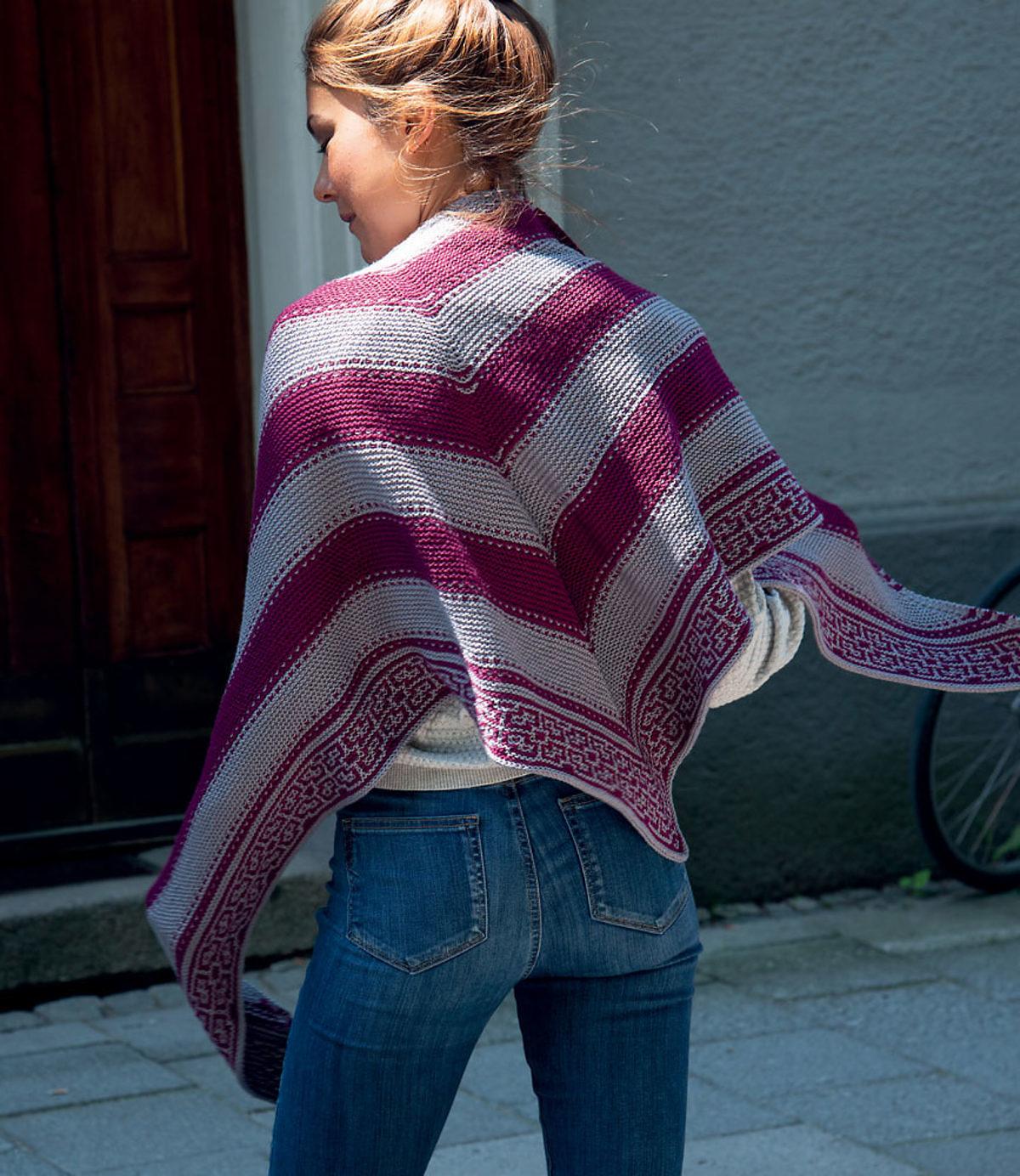 tricot-mosaique-chale